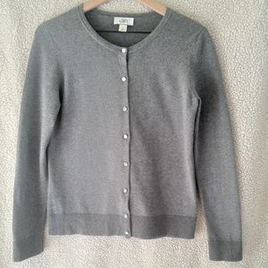 Loft Cardigan with Jeweled buttons